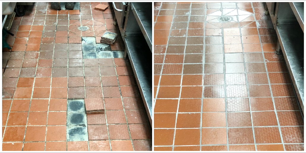 KITCHEN TILE REPAIR