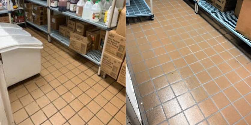 DRY STORAGE RE-GROUT