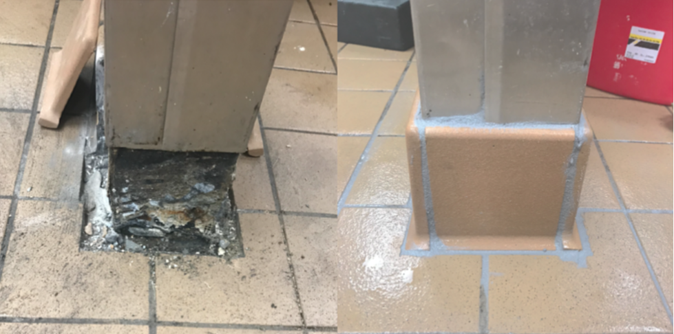 COVEBASE TILE REPAIR