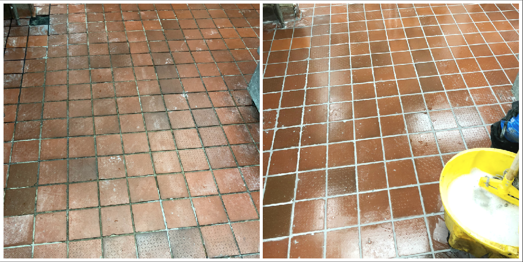 COMMERCIAL KITCHEN REGROUT