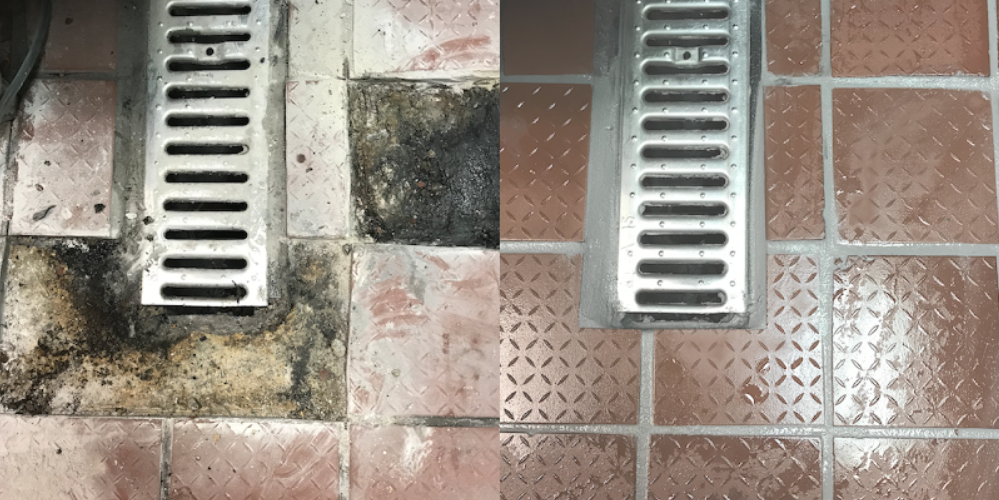 ICE MACHINE TILE REPAIR